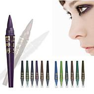 6 cores / 1set lápis de maquiagem profissional m.n olho sombra definir gel à prova de água caneta de luz lápis delineador talão destaques