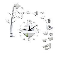 Modern/Contemporan Informal Altele Florale/Botanice Personaje Muzică Ceas de perete,Noutate Acrilic Interior/Exterior Ceas