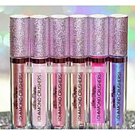 1Pcs 6 Color New Shimmer Crushers Lipstick Lip Topper Holographic Fashion Easy To Wear Makeup Cosmetic For Women 40Ml