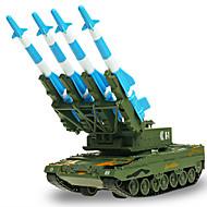 Hračky Vojenské auto Vysouvací Tank Kov Chlapecké Dívčí Narozeniny Den dětí Dárek Akční a hrací postavy Akční hry