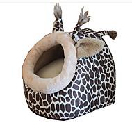 ネコ 犬 ベッド ペット用 マット/パッド カートゥン ソフト Brown ペット用
