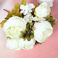 billige Kunstig Blomst-Kunstige blomster 1 Afdeling minimalistisk stil Pæoner Bordblomst