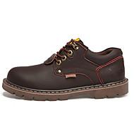 cheap Men's Oxfords-Men's Shoes PU Fall / Winter Fashion Boots Oxfords Yellow / Light Brown / Dark Brown