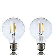 E26/E27 LED Filament Bulbs G80 4 COB 400 lm Warm White 2700 K AC 220-240 V