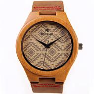 女性用 ファッションウォッチ 腕時計 ウッド クォーツ / ウッド バンド カジュアルスーツ ブラウン