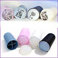 1 pcs Stampi 3D unghie in acrilico Gioielli per unghie Piastra di stampaggio manicure Manicure pedicure Quotidiano Astratto / Di tendenza / Piastra stampaggio