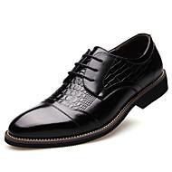 Χαμηλού Κόστους Imbettuy®-Ανδρικά Τα επίσημα παπούτσια Συνθετικό / Φο Δέρμα Φθινόπωρο / Χειμώνας Oxfords Μαύρο / Καφέ