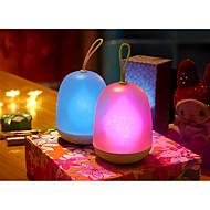 1개 LED 밤 빛 밝기조절가능 핑크 블루 그린 Purppura 멀티컬러 강화 된