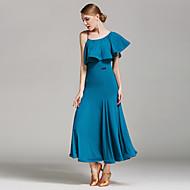 Χαμηλού Κόστους -Επίσημος Χορός Φορέματα Γυναικεία Επίδοση Mohair Βολάν Φυσικό Φόρεμα