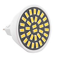 billige Spotlys med LED-YWXLIGHT® 1pc 5W 500-700lm GU5.3(MR16) LED-spotpærer MR16 32 LED perler SMD 5733 Dekorativ Varm hvit Kjølig hvit 110-130V 220-240V
