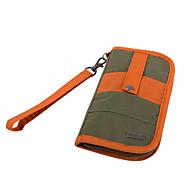 旅行かばん 旅行用パスポートウォレット 小物収納用バッグ 大容量 のために クロス 携帯電話 ファブリック ナイロン / 男女兼用