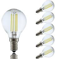 4W E14 LED лампы накаливания P45 4 светодиоды COB Тёплый белый Холодный белый 350-400lm 6500/2700K AC 220-240V