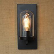 billige Vegglamper-Rustikk / Hytte / Land / Retro Rød Vegglamper Metall Vegglampe 110-120V / 220-240V 40W