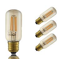 5W E26/E27 フィラメントタイプLED電球 T 4 LEDの COB 調光可能 装飾用 アンバー 350lm 2200K 交流220から240V