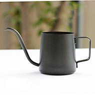 350 chaleira de café de aço inoxidável, 3 xícaras preparar café reutilizáveis