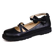 Meisjes Platte schoenen Comfortabel Mary Hane Kunstleer Lente Zomer Herfst Winter Causaal Formeel Feesten & Uitgaan Comfortabel Mary Hane