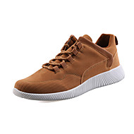 Men's Sneakers Light Soles Comfort Spring Summer Fall Suede Running Shoes Athletic Casual Outdoor Lace-up Flat Heel Black Gray Brown Flat