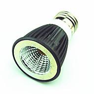 billige Spotlys med LED-1pc 6W 550 lm E14 GU5.3 E27 LED-spotpærer MR16 1 leds COB Dekorativ Varm hvit Kjølig hvit AC220