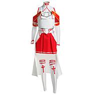 Inspirovaný SAO Alicization Asuna Yuuki Anime Cosplay kostýmy Cosplay šaty Patchwork Bez rukávů Vrchní deska / Sukně / Rukávy Pro Pánské / Dámské