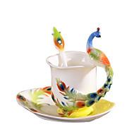 Zábavné Klasický Jít Sklenice, 230 ml Tepelně izolovaná Keramika Akt Mléko Kávové šálky