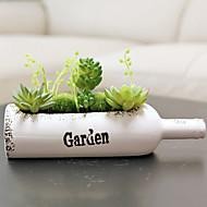 1 Gren Planter Bordblomst Kunstige blomster