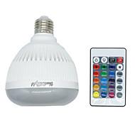 billiga Belysning-4W 400-500lm E27 E26 Smart LED-lampa LED-pärlor Bluetooth Bimbar Fjärrstyrd RGB 85-265V