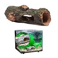 קישוט אקווריום צינורות ומערות קישוטים אינו רעיל וחסר טעם שרף