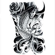 billiga Tatuering och body art-Vattentät 3D Tatueringsklistermärken Klassisk Hög kvalitet Dagligen