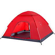 voordelige Kamperen&Wandelen-OSEAGLE 2 Persoons Backpackingtenten Enkel Dobber Dome Kampeer tent Buiten waterdicht, Regenbestendig, VochtBestendig voor Jagen / Vissen / Wandelen 2000-3000 mm Nylon, Oxford 240*200*120 cm