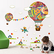 Wall Stickers Wall Decals Style Cartoon Balloon PVC Wall Stickers
