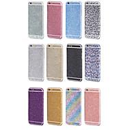 מדבקה בלינג היוקרה מגן גוף מלא סרט ל6 6s / iPhone iPhone (צבעים שונים)