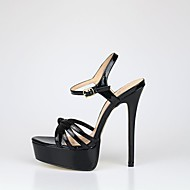 샌들-웨딩 파티/이브닝-여성-클럽 신발-PU-스틸레토 굽