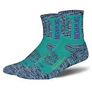 Sportovní ponožky Dámské Ponožky Zima Podzim Větruvzdorné Prodyšné tlusté Protiskluzový Antibakteriální Ter Emen PohodlnéBavlna elastan