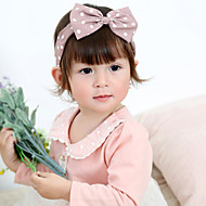 子供のかわいい赤ちゃんニットターバンドット鉢巻き