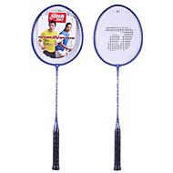 Badmintonschläger Hochelastisch Langlebig Faser Ein Paar für