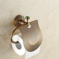 Toiletrulleholder / Antik Messing Moderne