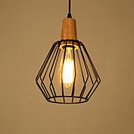 billige -Rustikt/hytte Vintage Land Moderne / Nutidig LED Vedhæng Lys Baggrundsbelysning Til Stue Soveværelse Spisestue Læseværelse/Kontor Gul
