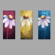 Handmade Oil Painting Sun Flower Wall Art 3 Piece/set Home Office Decor  with Stretched Framed