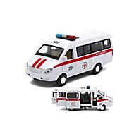 Muottivaletut ajoneuvot Taaksepäin vedettävät ajoneuvot Leluautot Poliisiauto Ambulanssi Lelut Auto Metalliseos 1 Pieces Lahja