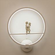 tanie Kinkiety Ścienne-Modern / Contemporary Lampy ścienne Na Metal Światło ścienne 110-120V 220-240V 18W