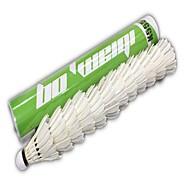 12 × 2 Badminton Federbälle Langlebig für Gänsefeder