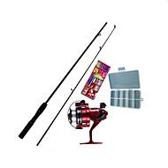 cheap Fishing-Fishing Rod Iso Rod Mini Rod / Pen Rod Fly Rod Surf Rod FRP Sea Fishing Fly Fishing Ice Fishing Rod & Reel Combos Invisible