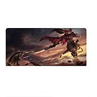 super grande 90 centímetros tamanho * homens 40 centímetros blading jogo impressão mousepad mouse pad tapete de jogos portátil