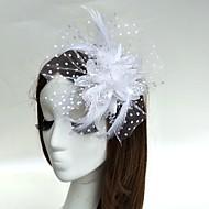 Perje Fascinators Cvijeće kape Vjeverica kose vijence 1 Vjenčanje Special Occasion Glava