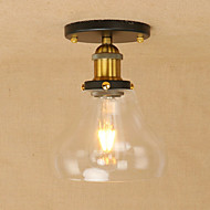 billige Taklamper-Anheng Lys Omgivelseslys - Mini Stil LED designere, Lanterne Land Retro Rød, 110-120V 220-240V Pære Inkludert