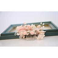 šifon slitine češljevi cvijeće glavu klasični ženski stil