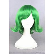 פאות סינתטיות / פאות לתחפושות ישר סגנון ללא מכסה פאה ירוק ירוק שיער סינטטי בגדי ריקוד נשים ירוק פאה קצר פאה למשחקי תפקידים
