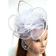 Χαμηλού Κόστους -Τούλι Φτερό Δίχτυ Γοητευτικά Καπέλα Βιτρίνα Πτηνών 1 Γάμου Ειδική Περίσταση Headpiece