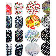 1pcs Sanat Sticker Nail 3D Tırnak Çıkartması Makyaj Kozmetik Sanat Tasarım Nail
