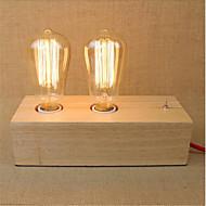 billige Lamper-Rustikk/ Hytte LED Skrivebordslampe Til Tre/ Bambus 220-240V